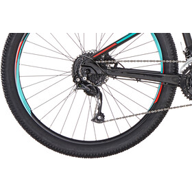 "ORBEA MX XS 40 27,5"" Niños, black-turquoise-red"
